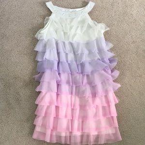 Ombré Formal Girls Dress